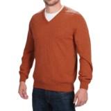 Johnstons of Elgin V-Neck Sweater - Scottish Cashmere (For Men)