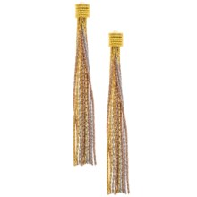 Joia de Majorca Silk Feel Earrings in Gold - Closeouts