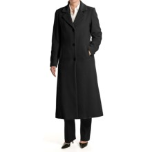 Jonathan Michael Camel Hair Coat - Polished (For Women) in Black - Overstock