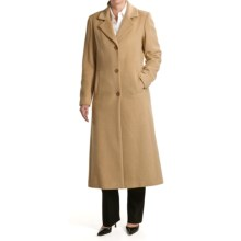 Jonathan Michael Camel Hair Coat - Polished (For Women) in Camel - Overstock