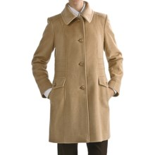 Jonathan Michael Camel Hair-Merino Wool Coat (For Women) in Camel - Closeouts