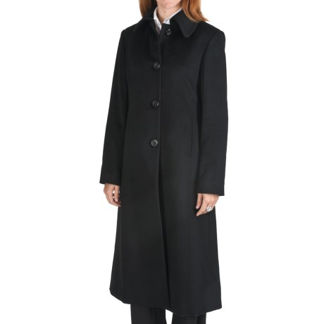 Jonathan Michael Cashmere Coat (For Women) in Black