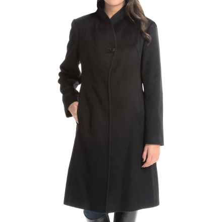 Jonathan Michael Cashmere Coat (For Women) in Black - Closeouts