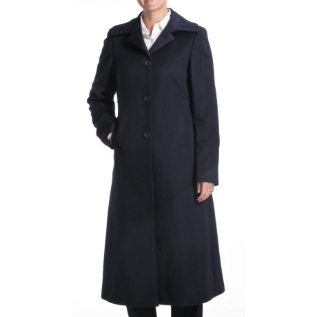 Jonathan Michael Cashmere Coat (For Women) in Navy