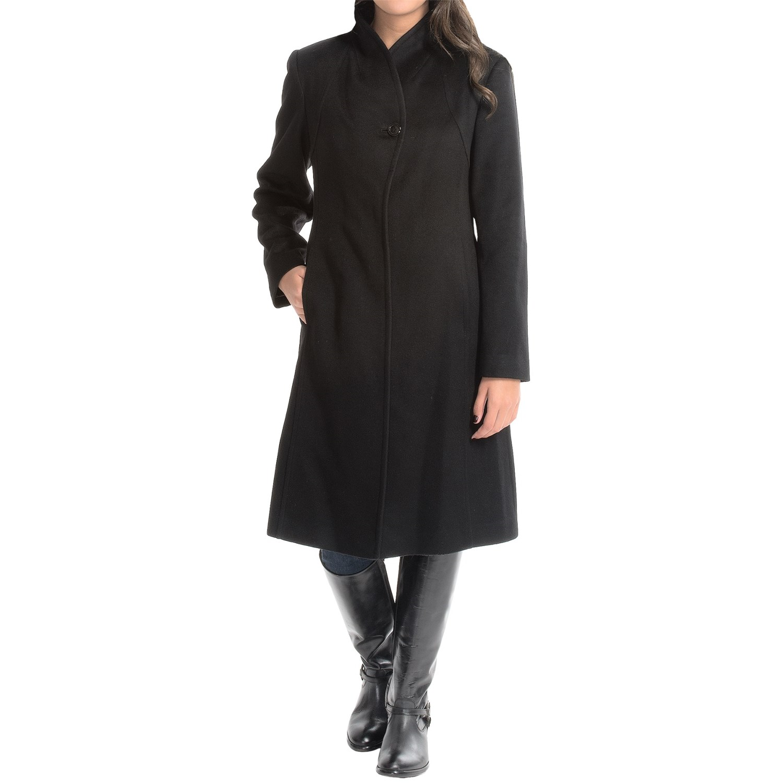 9260K_3 Jonathan Michael Cashmere Coat (For Women