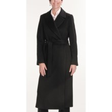 Jonathan Michael Coat - Merino Wool-Cashmere (For Women) in Black - Closeouts