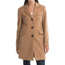Jonathan Michael Polished Camel Hair Coat (For Women) in Camel - Closeouts