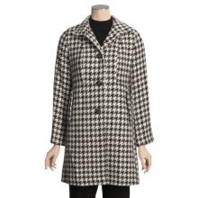 Jonathan Michael Single-Breasted Jacket - Dimple Back (For Women) in Black/Brown/Grey - Closeouts