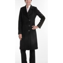 Jonathan Michael Walker Coat - Cashmere-Merino Wool (For Women) in Black - Closeouts