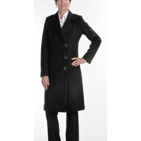 Jonathan Michael Walker Coat - Cashmere-Merino Wool (For Women) in Black