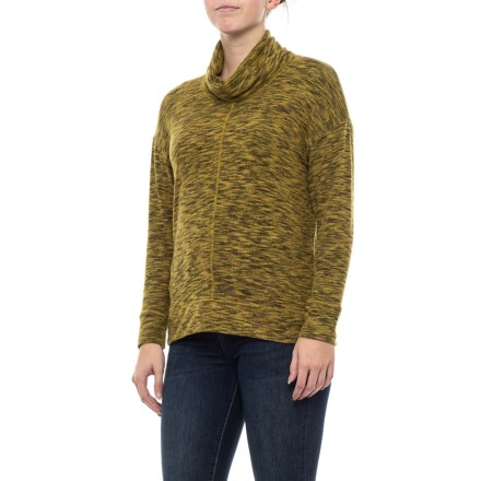cd99d57d197194 Clearance. Jones New York Easy Cowl Neck Pullover Sweater (For Women) in  Moss Combo -