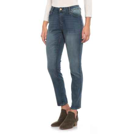 Jones New York Lexington Curvy Skinny Jeans (For Women) in Madison Wash - Closeouts