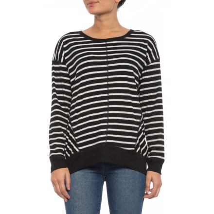 6effa9fa6d13f Jones New York Pullover Shirt with Front Seams - Scoop Neck. Long Sleeve ( For