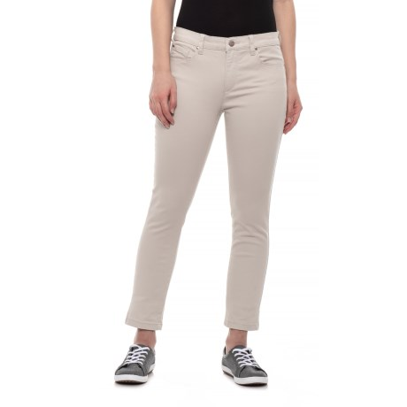 c60492f6d7c Jones New York Stone Madison Skinny Ankle Jeans (For Women) in Stone