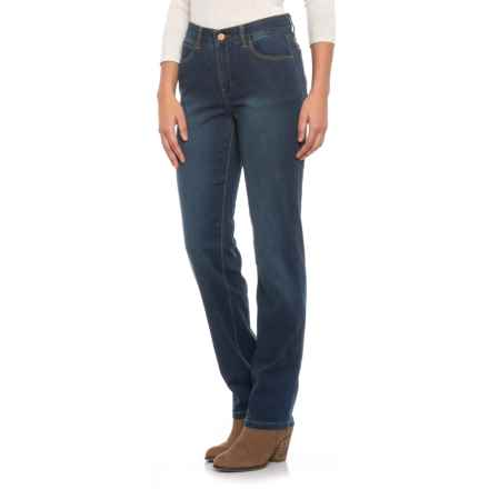 Jones New York The Park High-Rise Slim Jeans (For Women) in Indigo Wash - Closeouts