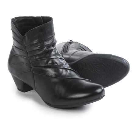 Josef Seibel Amy 07 Ankle Boots (For Women) in Black - Closeouts