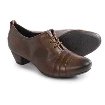 Josef Seibel Amy 11 Lace Shoes - Leather (For Women) in Tobacco - Closeouts