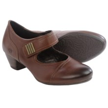 Josef Seibel Amy 37 Mary Janes Shoes - Leather (For Women) in Tobacco - Closeouts