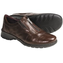 Josef Seibel Annie Shoes - Leather, Zip Front (For Women) in Chestnut - Closeouts