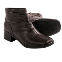 Josef Seibel Bella Ankle Boots - Leather (For Women) in Dark Brown - Closeouts