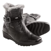 Josef Seibel Bliss Faux-Fur-Lined Boots (For Women) in Black - Closeouts