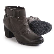 Josef Seibel Britney 23 Ankle Boots - Leather (For Women) in Anthracite - Closeouts