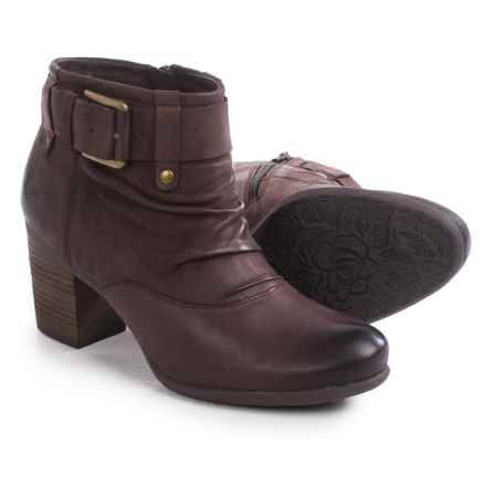 Josef Seibel Britney 23 Ankle Boots - Leather (For Women) in Brown - Closeouts