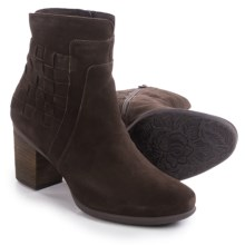 Josef Seibel Britney 27 Suede Boots (For Women) in Brown - Closeouts