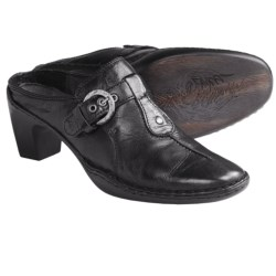 Josef Seibel Calla 08 Shoes - Leather, Slip-Ons (For Women) in Black