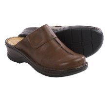 Josef Seibel Carole Clogs - Leather (For Women) in Cigar - Closeouts
