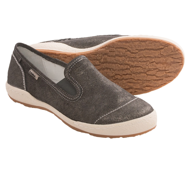 josef seibel caspian 06 shoes leather slip ons for