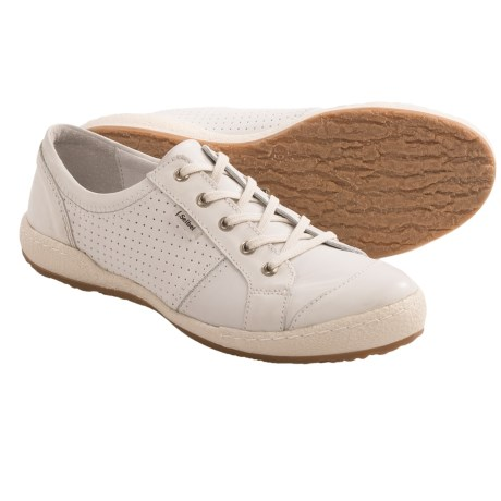 Josef Seibel Caspian Sneakers - Leather (For Women) in White