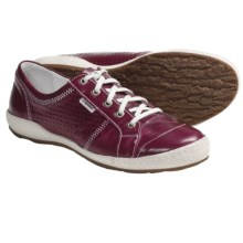 Josef Seibel Caspian Sneakers - Leather (For Women) in Wine - Closeouts