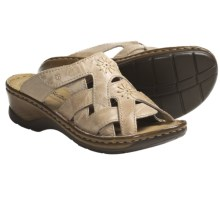 Josef Seibel Catalonia 15 Sandals - Leather (For Women) in Beige - Closeouts