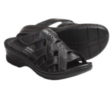 Josef Seibel Catalonia 15 Sandals - Leather (For Women) in Black - Closeouts