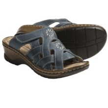 Josef Seibel Catalonia 15 Sandals - Leather (For Women) in River - Closeouts