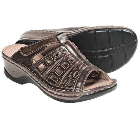 Josef Seibel Catalonia 18 Peep-Toe Sandals (For Women) in Brown