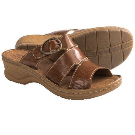Josef Seibel Catalonia 25 Sandals - Leather (For Women) in Camel