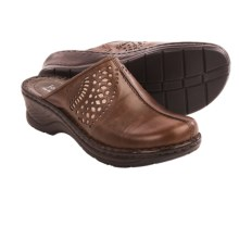 Josef Seibel Catalonia 28 Leather Clogs (For Women) in Brasil/Bronze - Closeouts