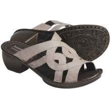 Josef Seibel Cecily Leather Sandals (For Women) in Castoro Capri - Closeouts
