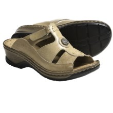 Josef Seibel Clarissa Sandals - Leather (For Women) in Beige - Closeouts