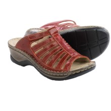 Josef Seibel Claudia Sandals (For Women) in Red - Closeouts