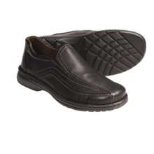 Josef Seibel Conner Shoes - Leather, Slip-Ons (For Men) in Brown - Closeouts