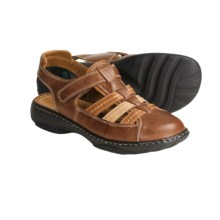 Josef Seibel Dana Sandals - Leather (For Women) in Brandy - Closeouts