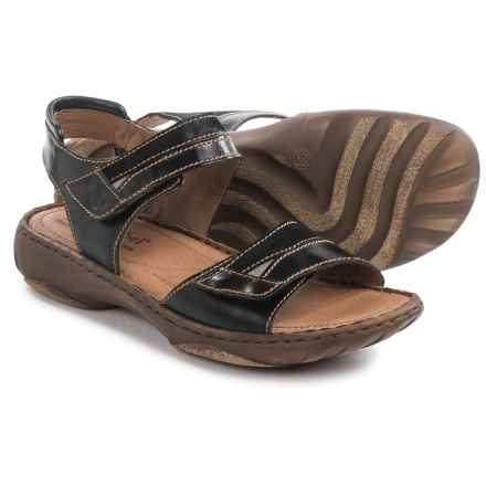 Josef Seibel Debra 19 Sandals - Leather (For Women) in Black - Closeouts