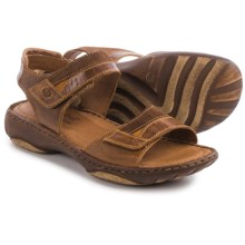 Josef Seibel Debra 19 Sandals - Leather (For Women) in Castagne - Closeouts
