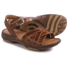 Josef Seibel Debra 23 Criss-Cross Sandals (For Women) in Camel - Closeouts