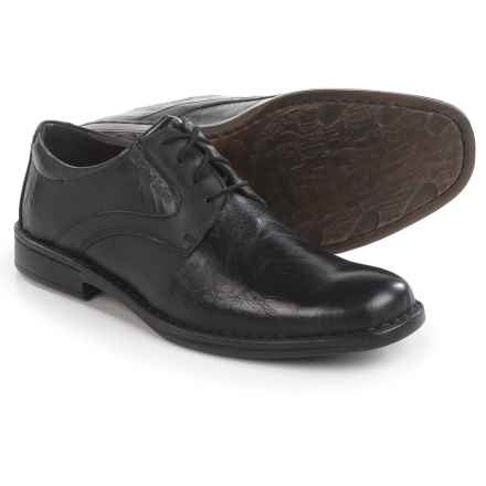Josef Seibel Douglas 24 Oxford Shoes - Leather (For Men) in Black - Closeouts
