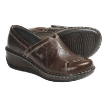 Josef Seibel Elenore Wedge Shoes - Leather (For Women) in Chestnut - Closeouts