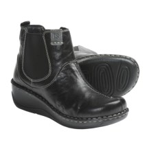 Josef Seibel Elexa Ankle Boots - Leather (For Women) in Black - Closeouts